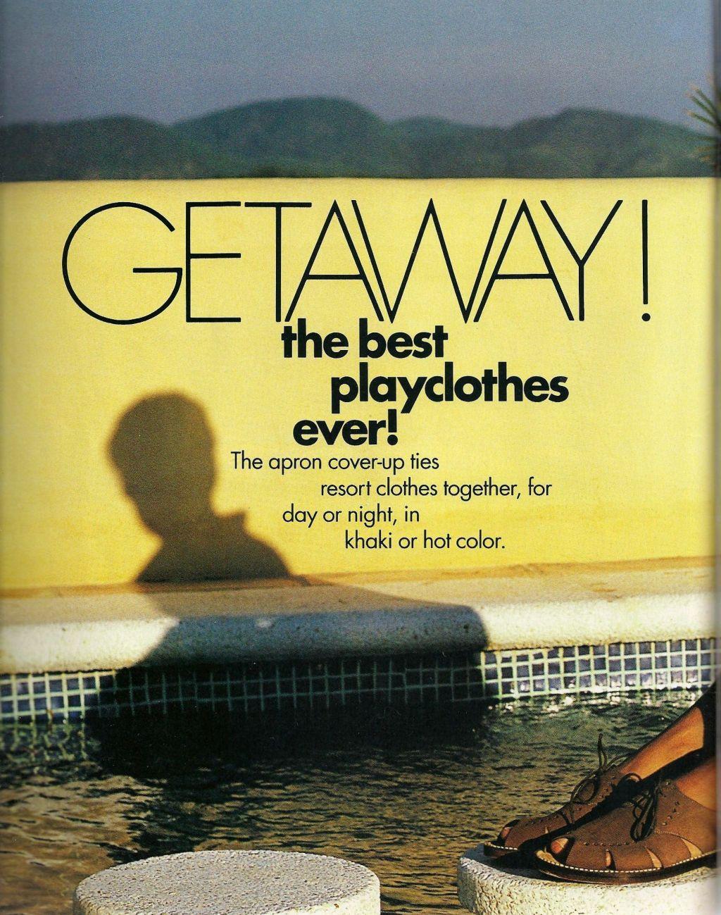 Elle (US) January 1991 | Getaway 01.jpg