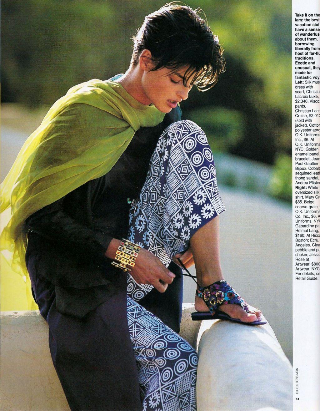 Elle (US) January 1991 | Getaway 03.jpg