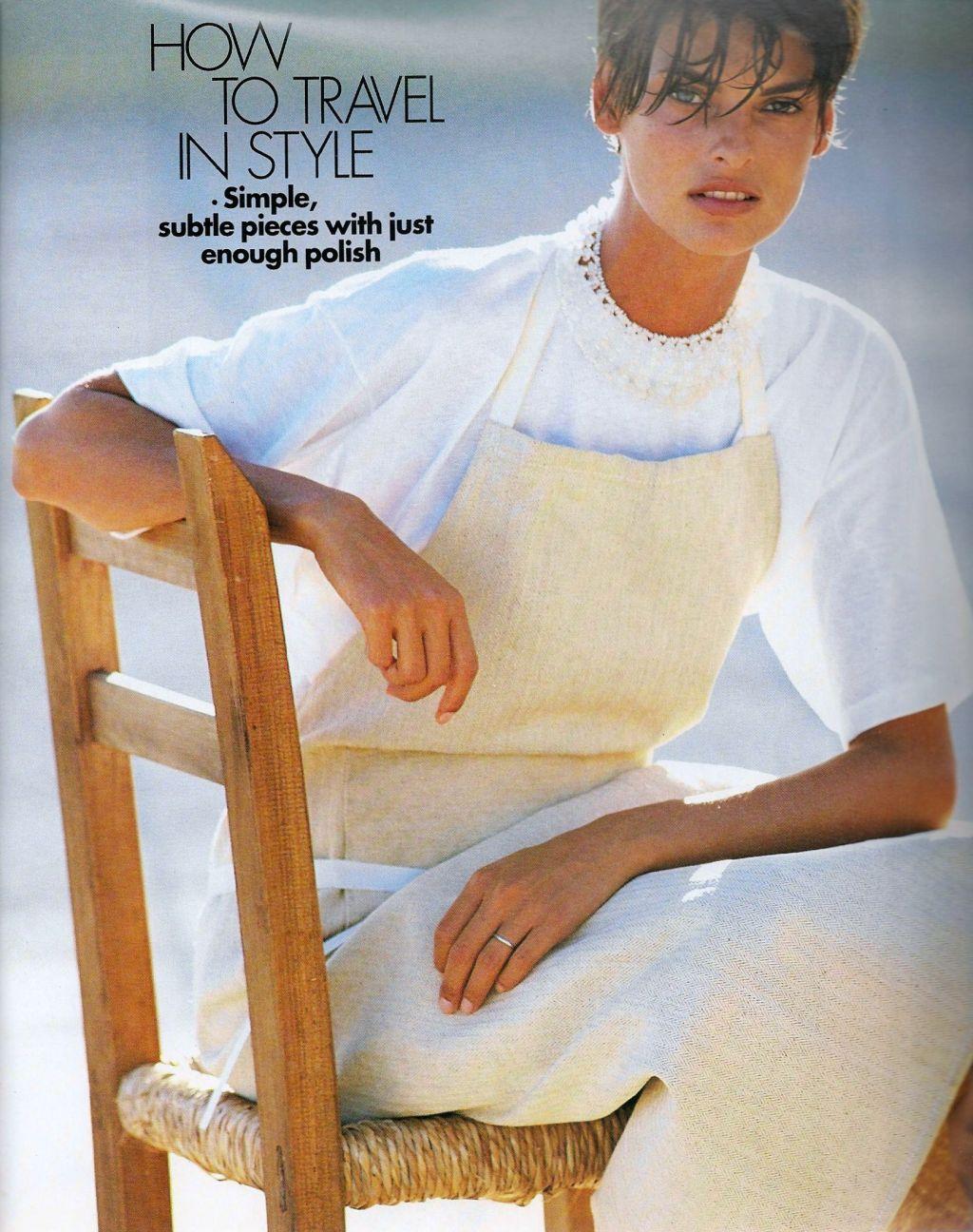 Elle (US) January 1991 | Getaway 04.jpg
