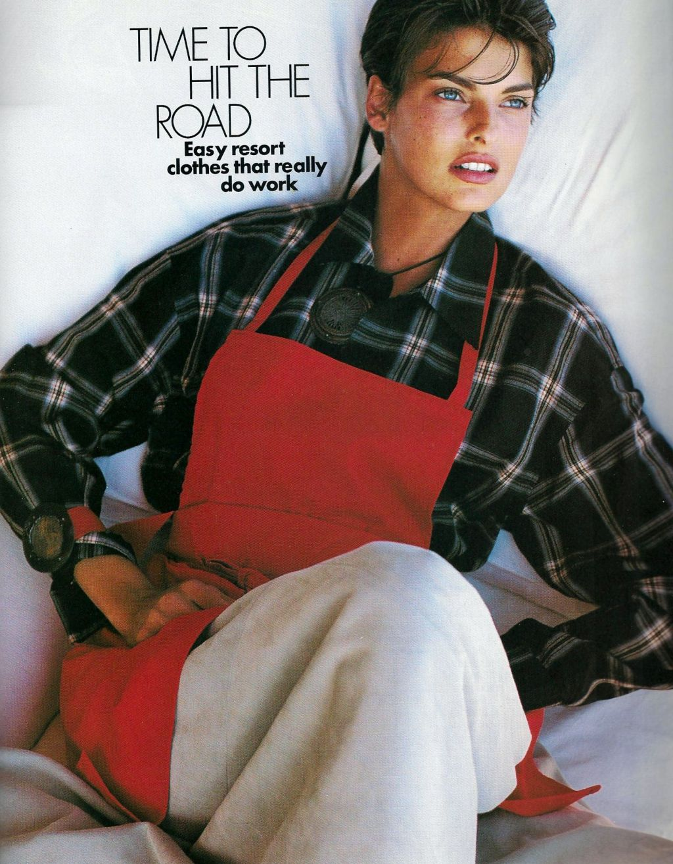 Elle (US) January 1991 | Getaway 06.jpg