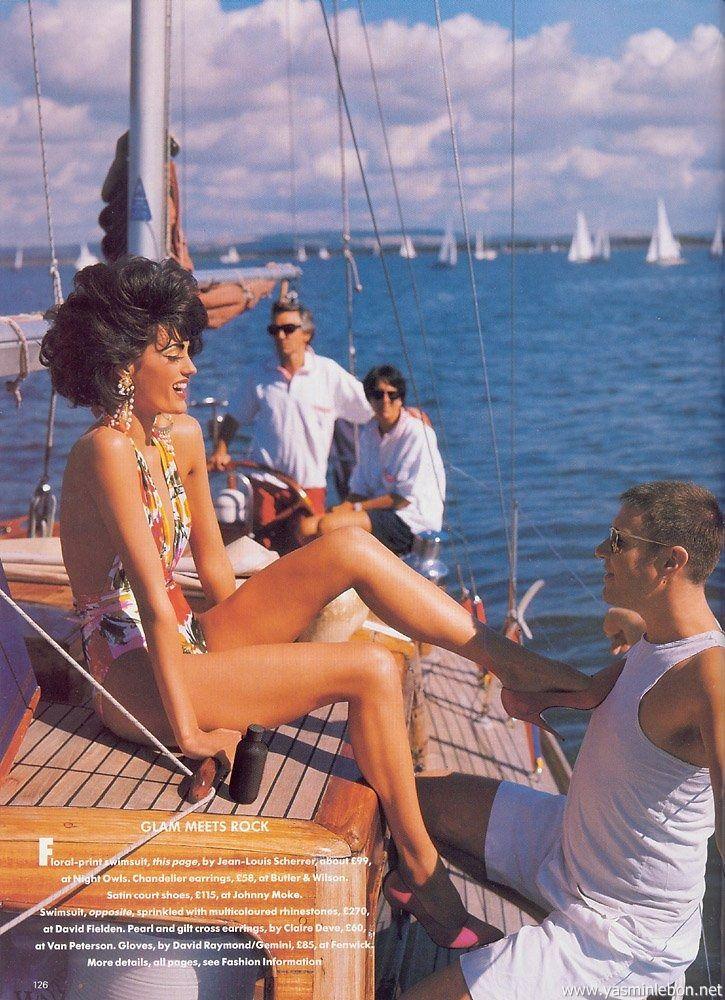 Vogue (UK) January 1991 | Glam Meets Rock 05.jpg