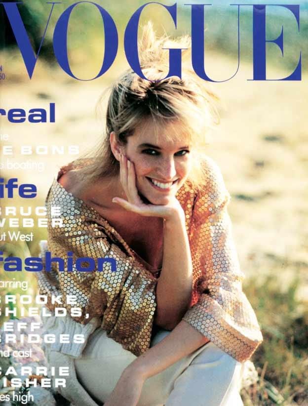 Vogue (UK) January 1991 | Bonnie Berman