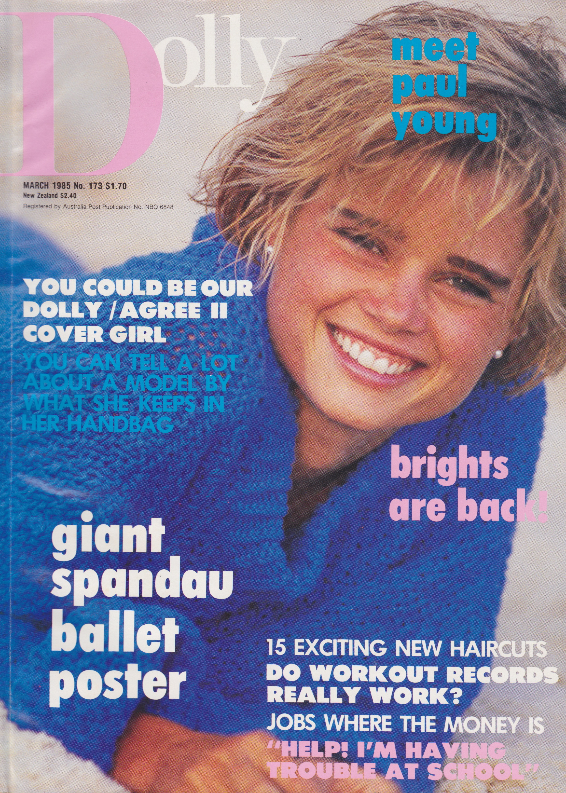 Dolly Magazine (Australia) March 1985 | Lori