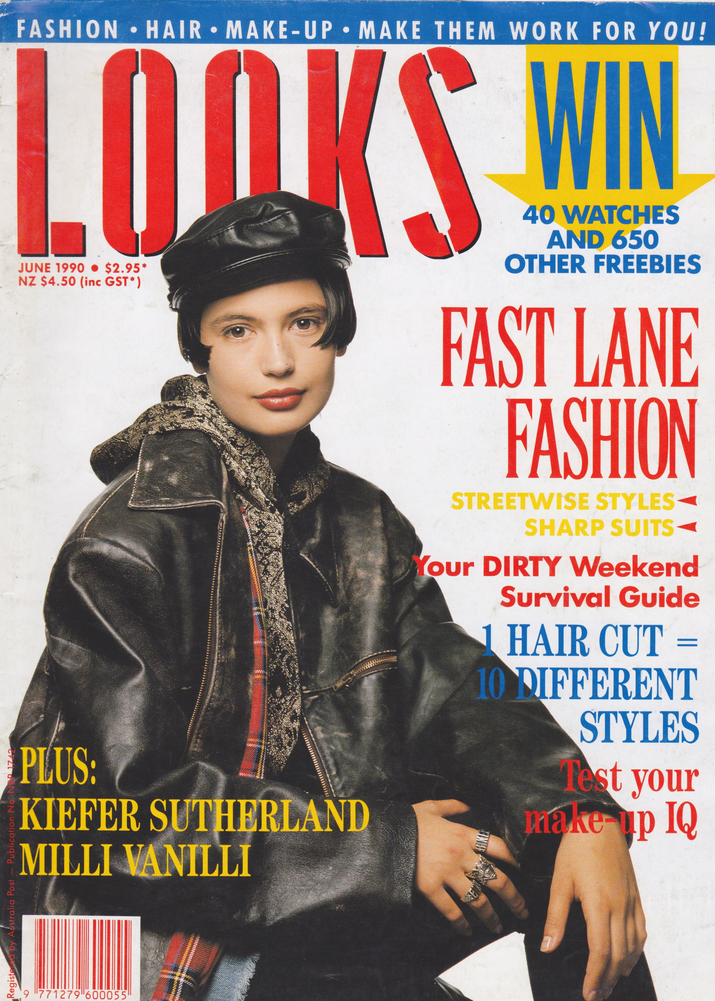 Looks Magazine (Australia) June 1990 | Belinda