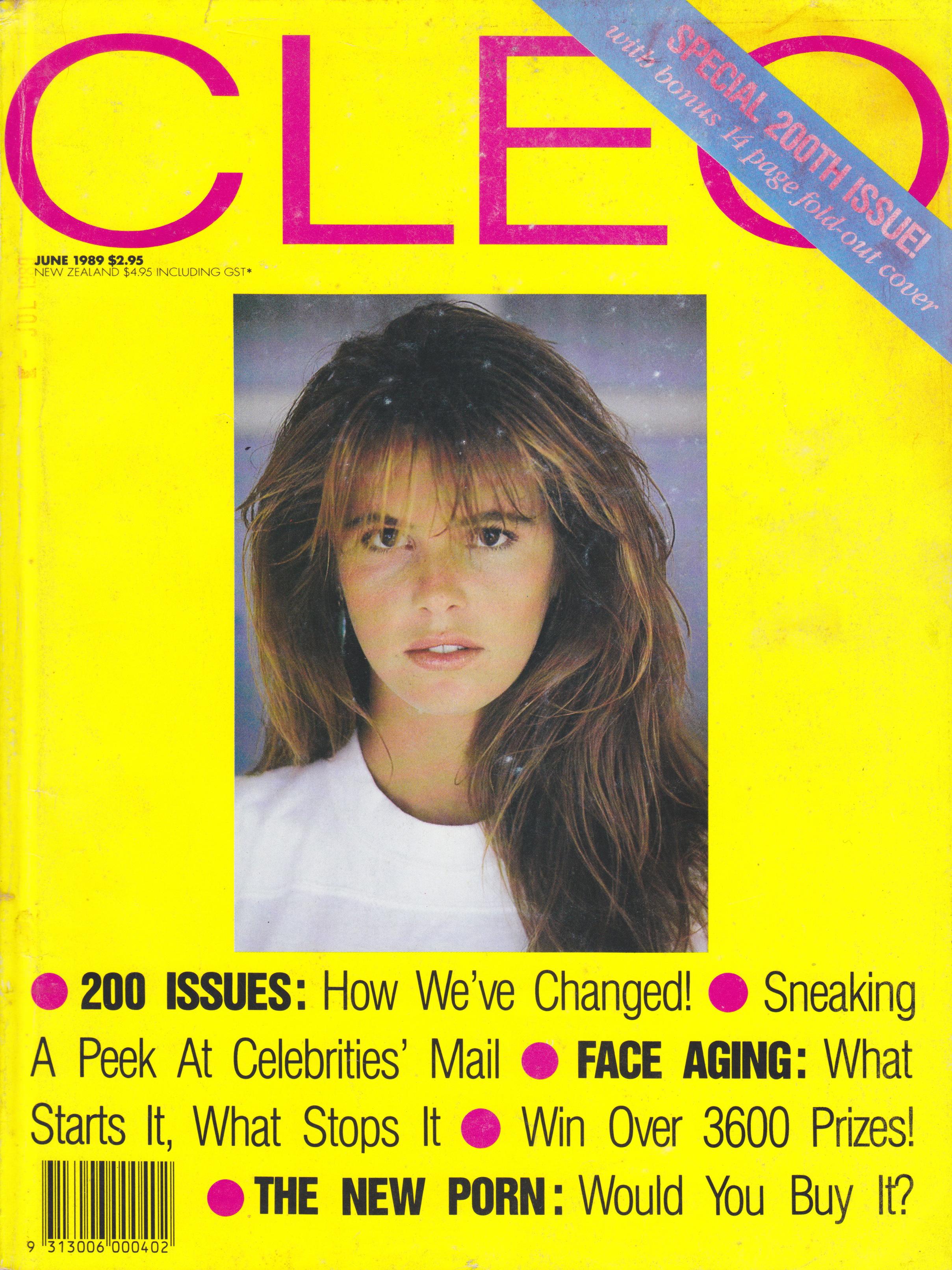 CLEO June 1989   Elle Macpherson