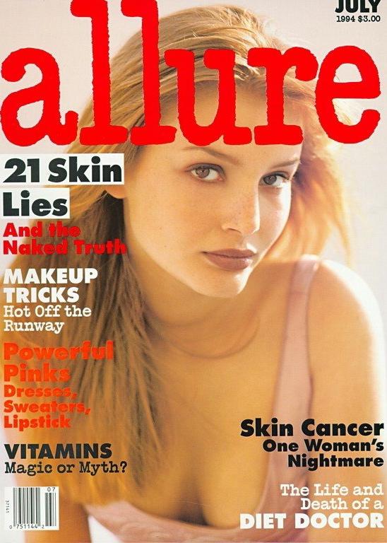 Allure July 1994   Bridget Hall