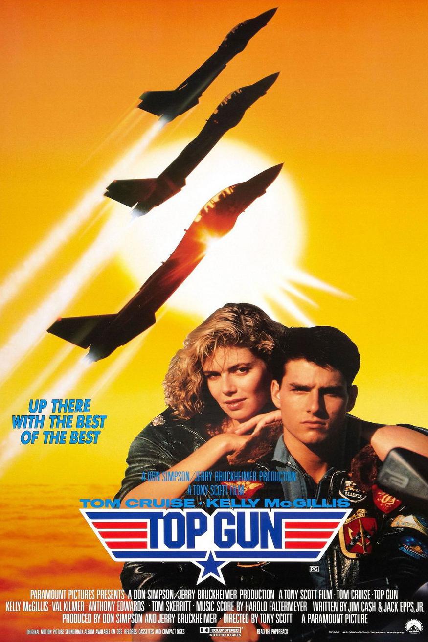 Movie Poster | Top Gun (1986)