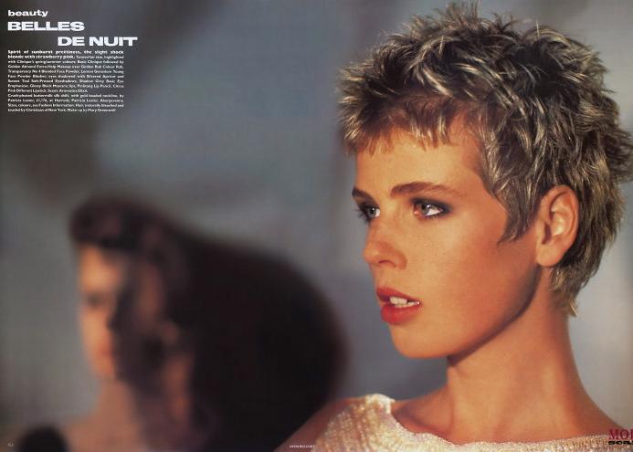 Vogue (UK) June 1986 | Christy Turlington, Kristen McMenamy, Jeny Howorth 01