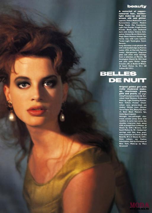 Vogue (UK) June 1986 | Christy Turlington, Kristen McMenamy, Jeny Howorth 03