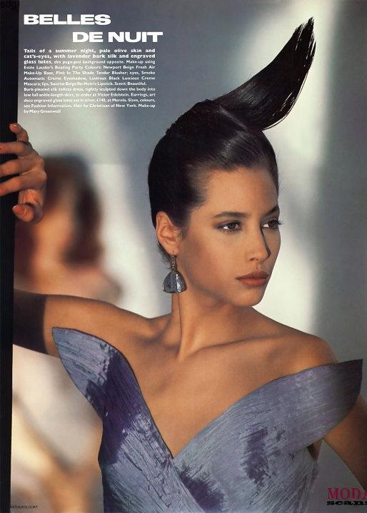Vogue (UK) June 1986 | Christy Turlington, Kristen McMenamy, Jeny Howorth 08.jpg