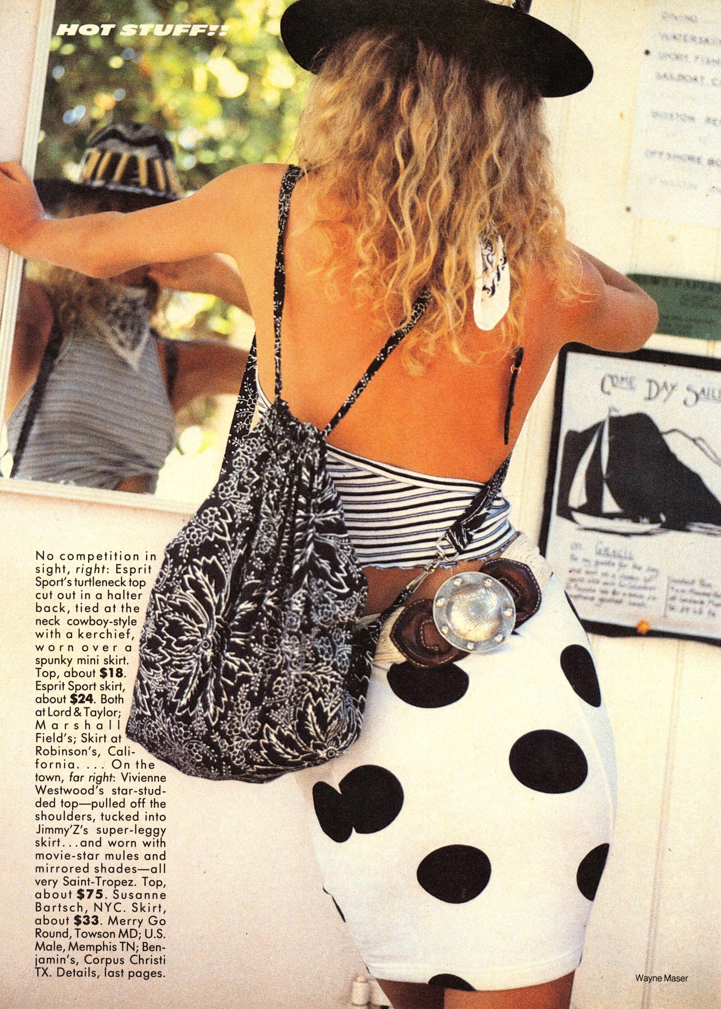Vogue (US) June 1986 | Patty McHugh & Christy Turlington 13.jpg