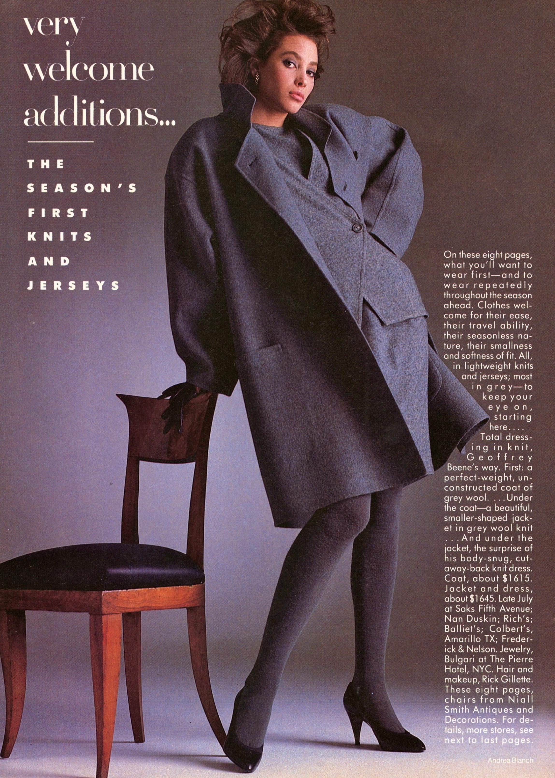 Vogue (US) June 1986 | Christy Turlington & Jose Toledo 01.jpg