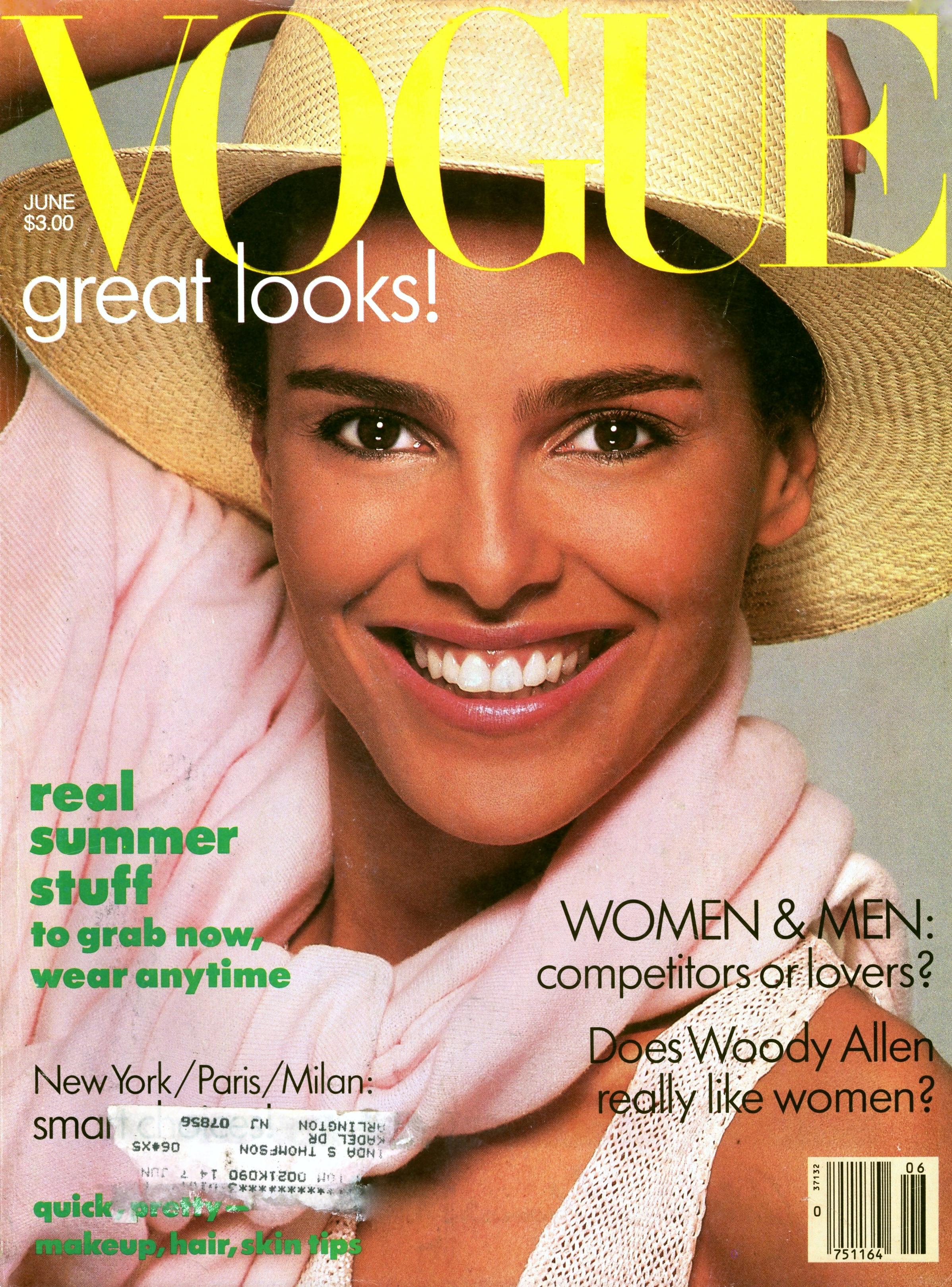 Vogue (US) June 1986 | Shari Belafonte-Harper