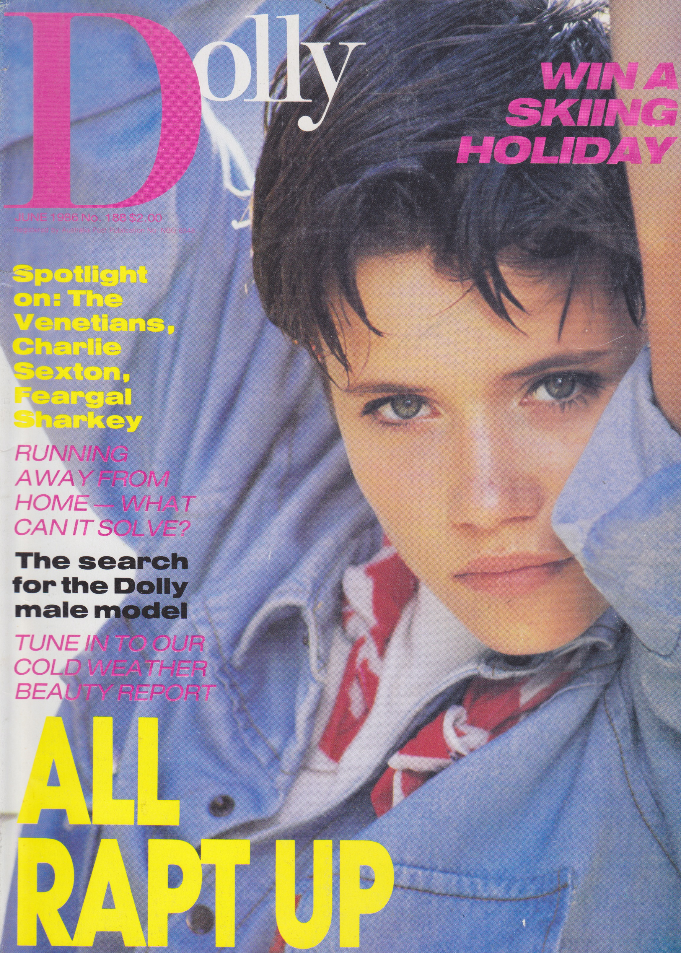 Dolly Magazine June 1986 | Anna Louise Gould