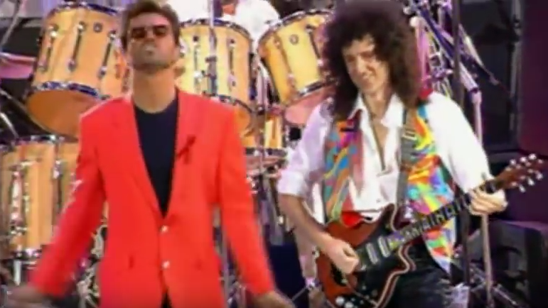 George Michael & Queen | Somebody To Love 03.png