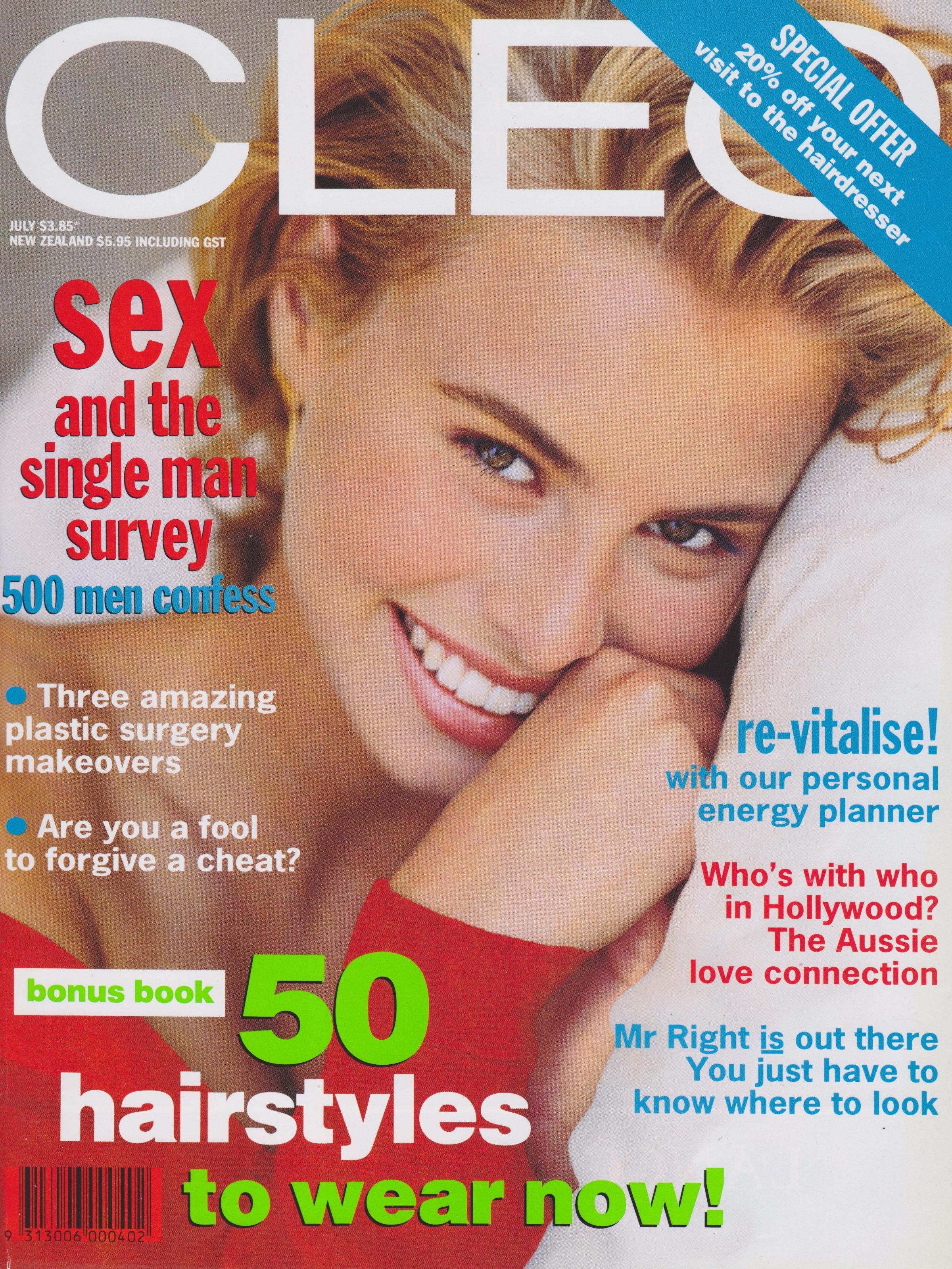 CLEO July 1992 | Niki Taylor