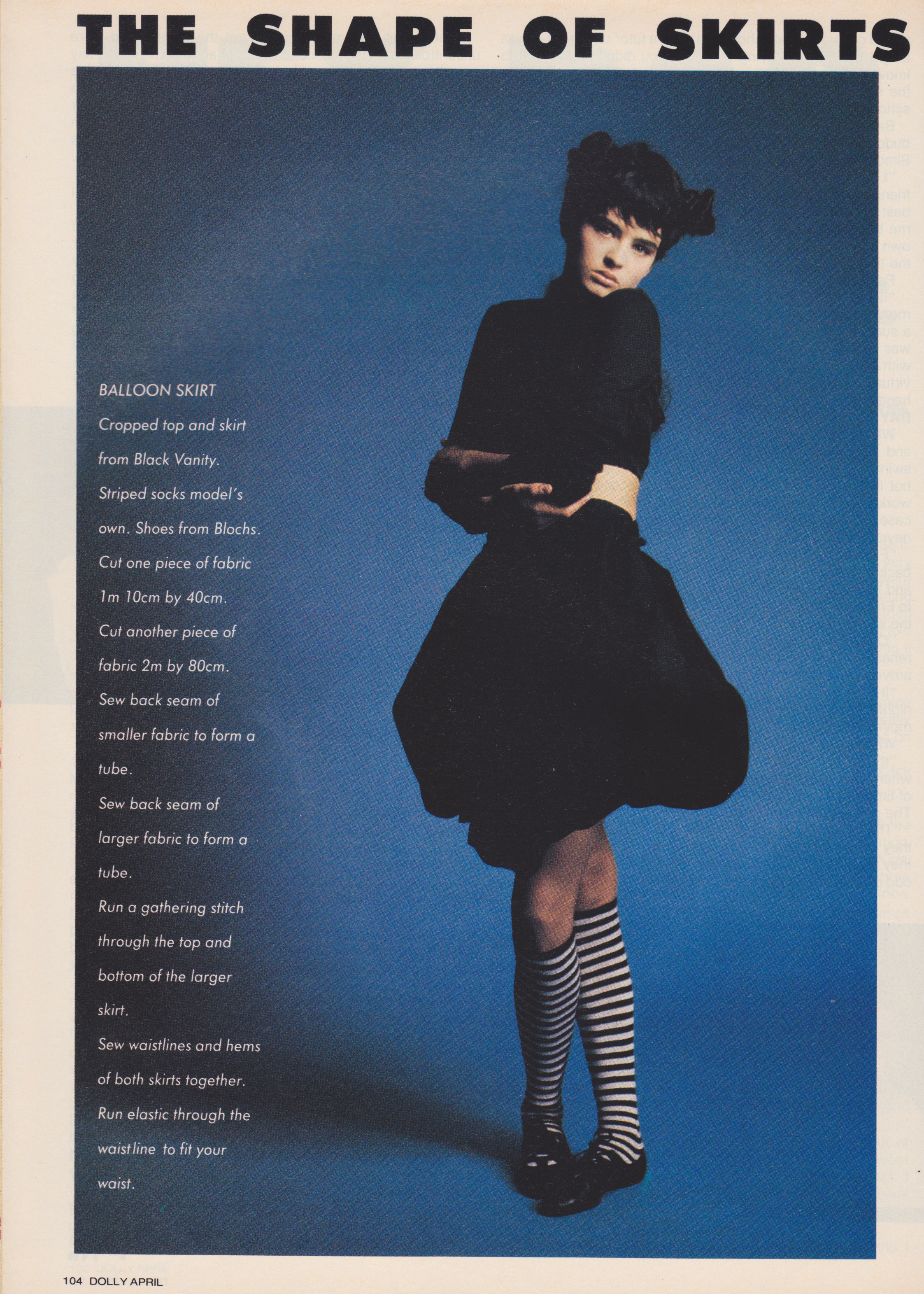 Dolly April 1987 | The Shape Of Skirts To Come (Belinda Riding) 01.jpeg