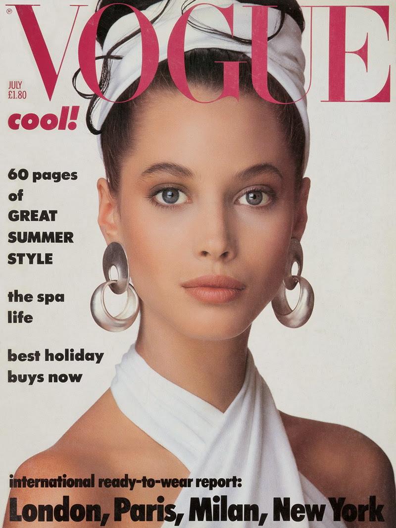 Vogue (UK) July 1986 | Christy Turlington