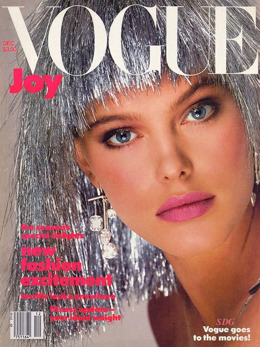 Vogue (US) December 1984 | Renee Simonsen