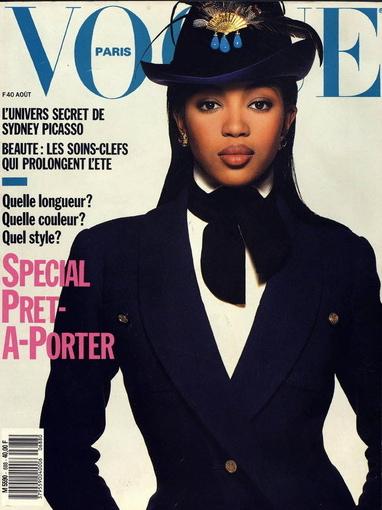 Vogue (Paris) August 1988 | Naomi Campbell