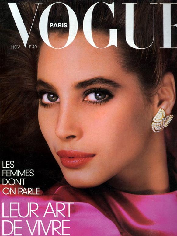 Vogue (Paris) November 1986 | Christy Turlington
