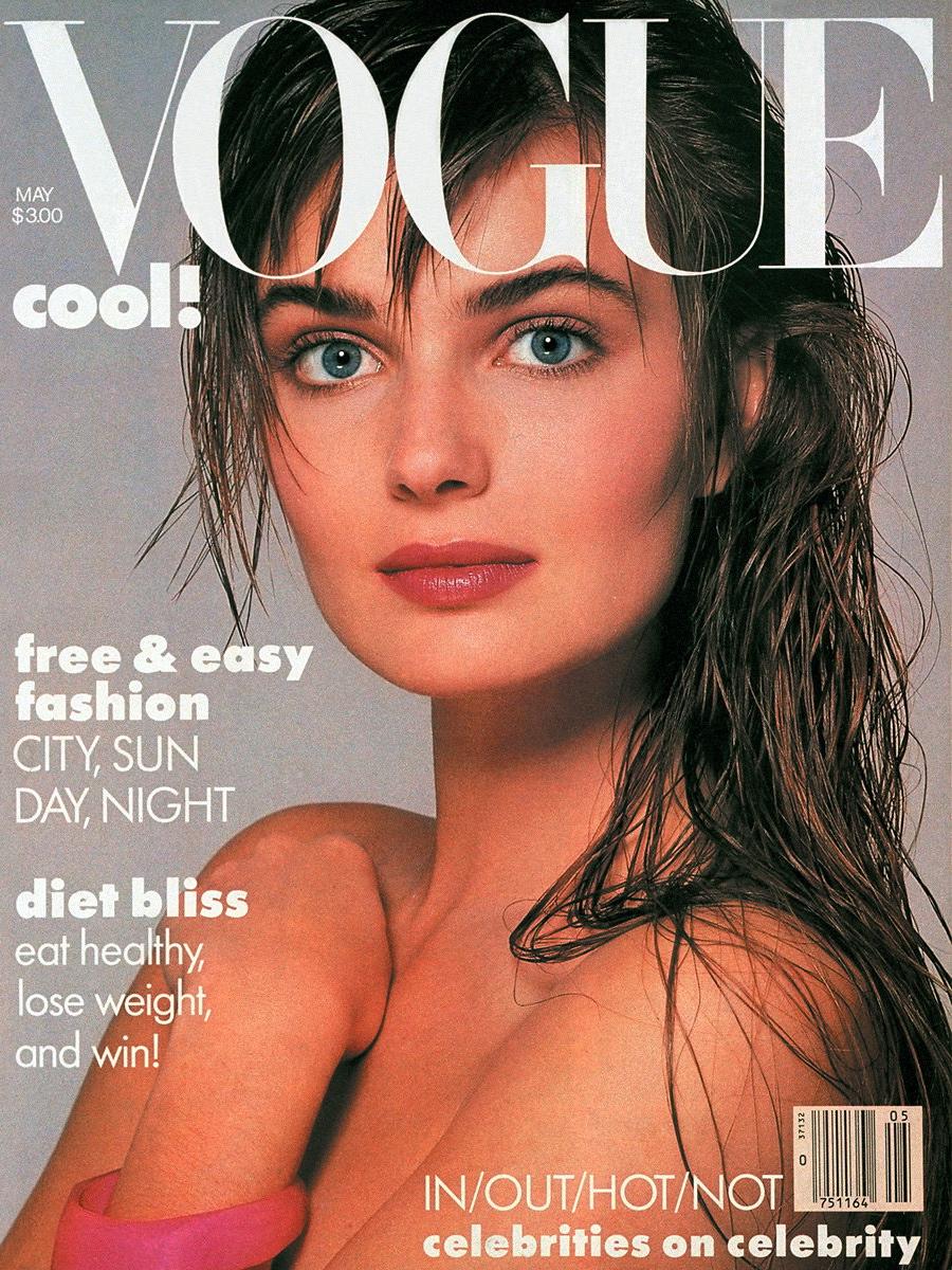 Vogue (US) May 1986 | Paulina Porizkova