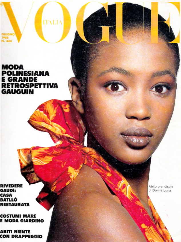 Vogue (Italia) June 1988 | Naomi Campbell