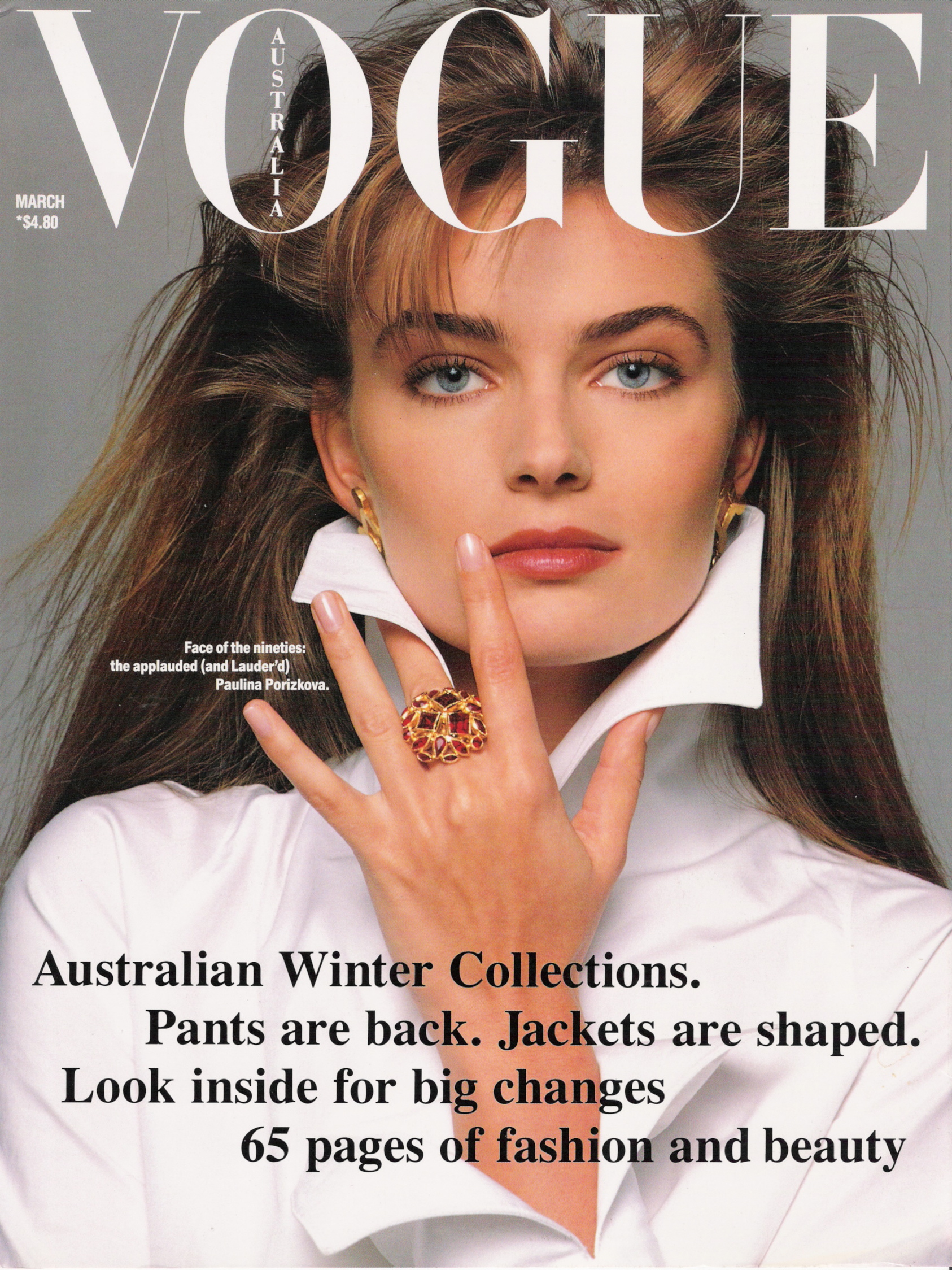 Vogue (Australia) March 1989