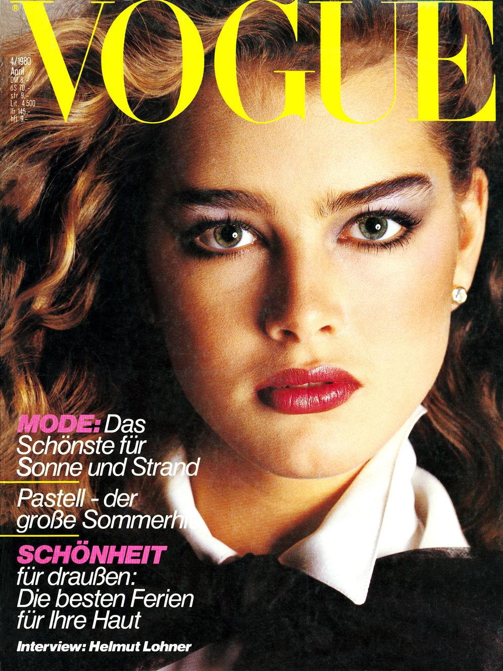 Vogue (Germany) April 1980 | Brooke Shields