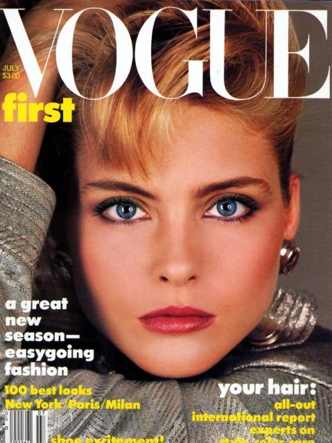 Vogue (Germany) July 1986 | Kim Alexis