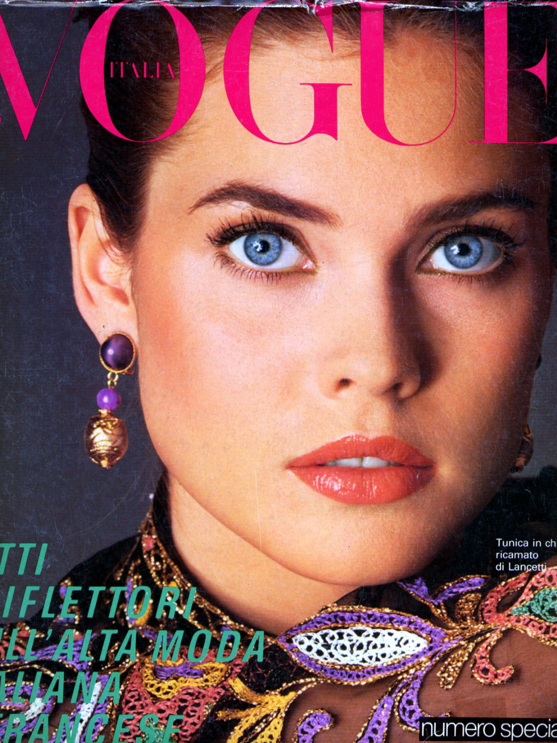 Vogue (Italia) March 1981 | Carol Alt