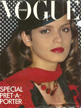 Vogue (Paris) April 1979 | Gia Carangi