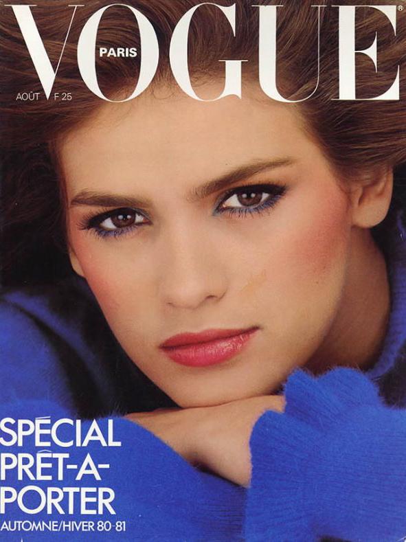 Vogue (Paris) August 1980 | Gia Carangi