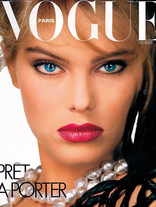 Vogue (Paris) February 1981 | Renee Simonsen