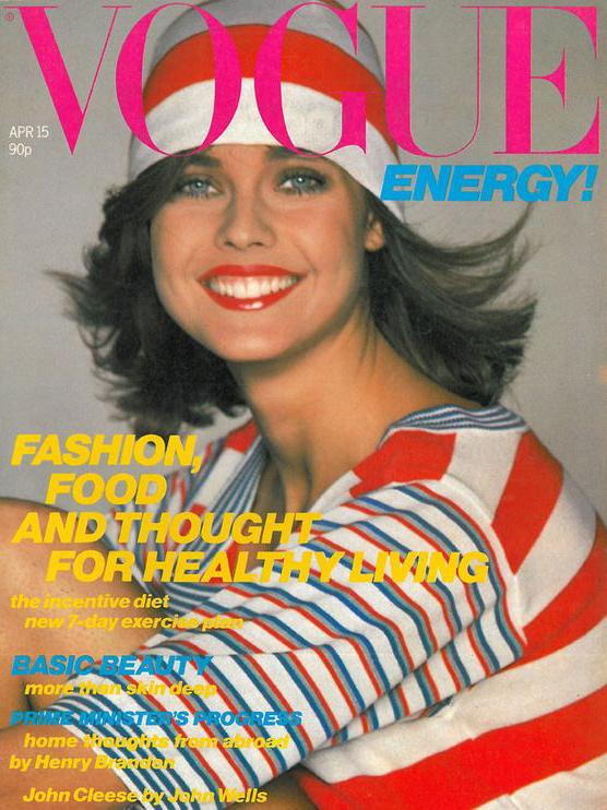 Vogue (UK) April 1980 | Carol Alt