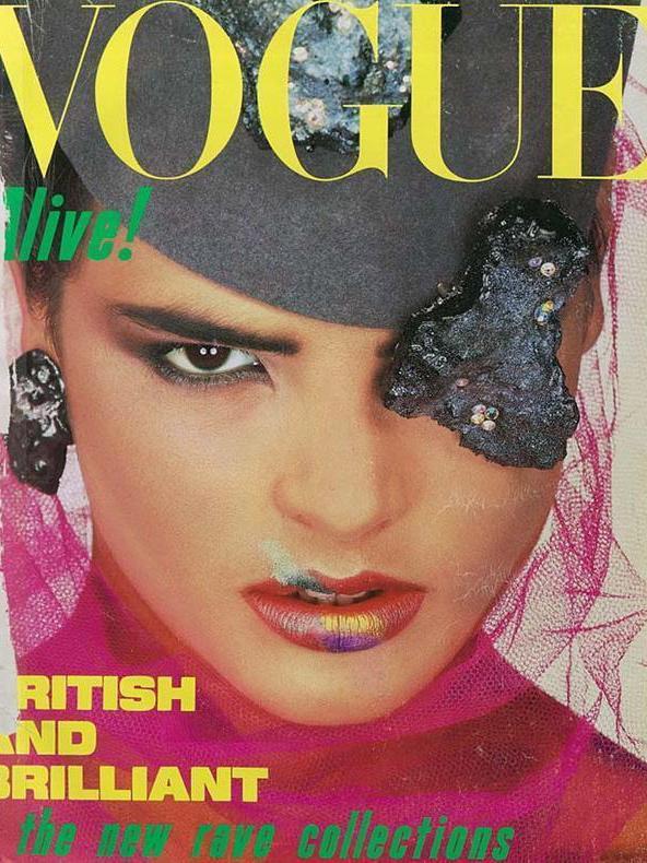 Vogue (UK) August 1984 | Talisa Soto