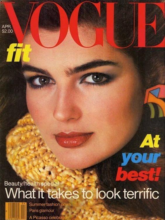 Vogue (US) April 1980 | Eva Voorhees