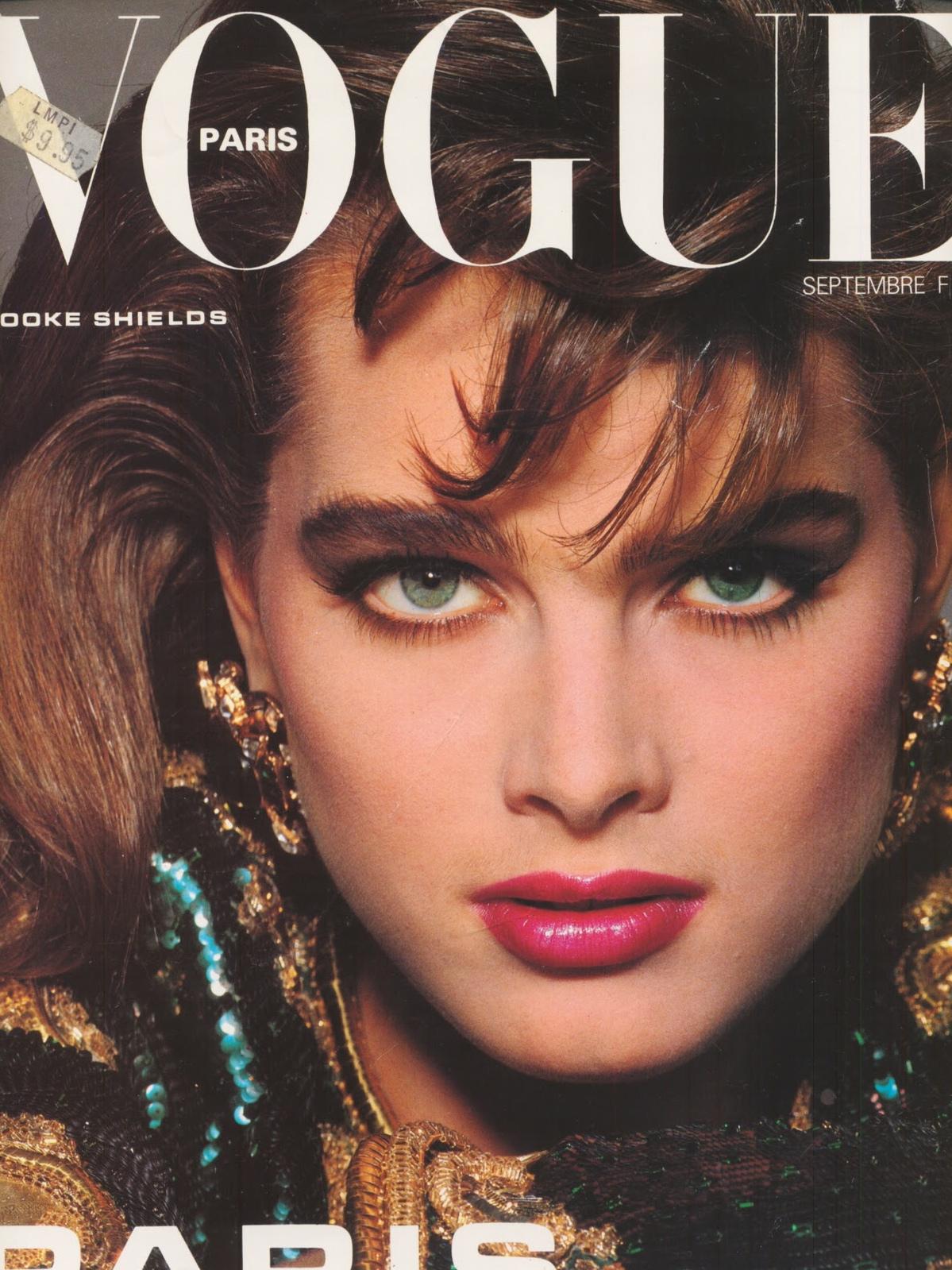 Vogue (Paris) September 1983 | Brooke Shields