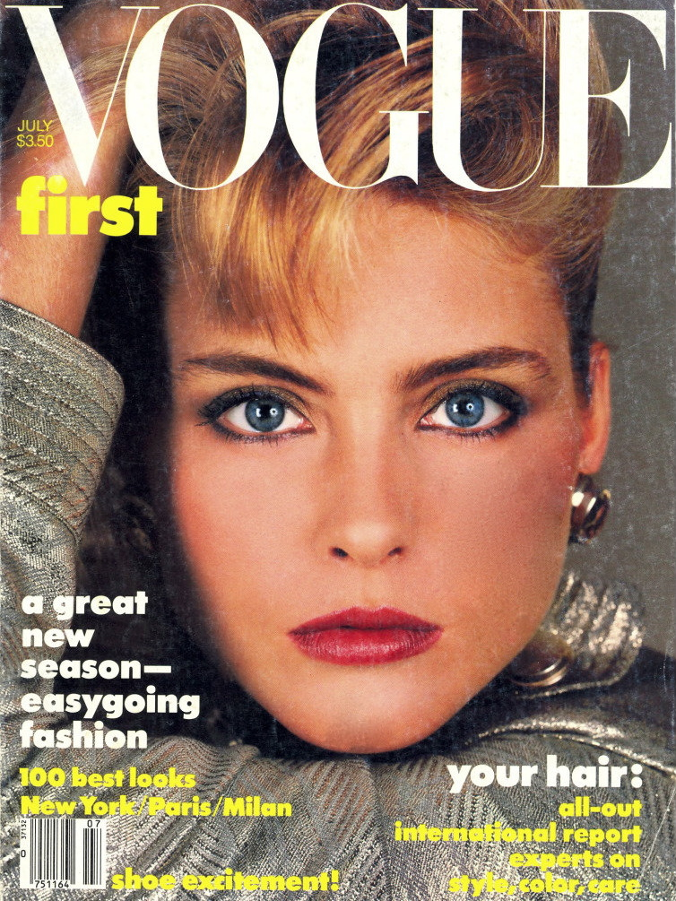 Vogue (US) July 1984 | Kim Alexis