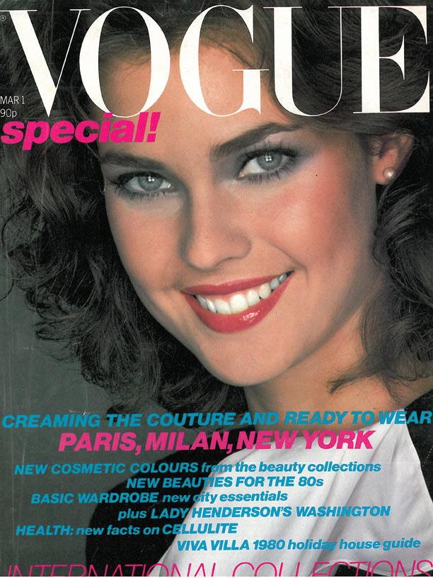 Vogue (US) March 1980 | Carol Alt