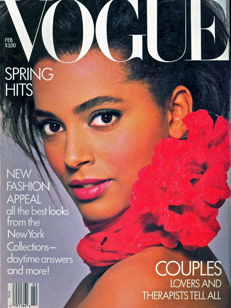 Vogue (US) February 1987 | Eva Voorhees