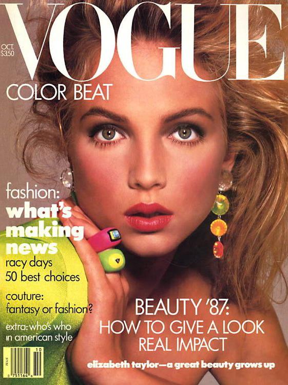 Vogue (US) April 1981 | Kim Alexis