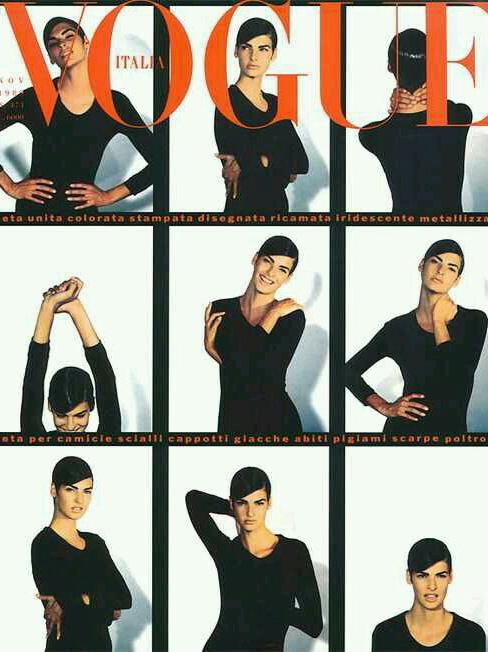 Vogue (Italia) November 1989 | Linda Evangelista