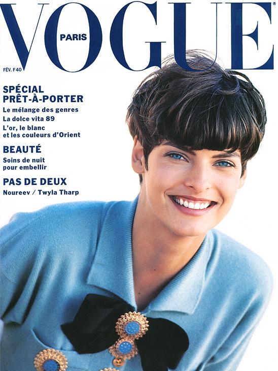 Vogue (Paris) February 1989 | Linda Evangelista