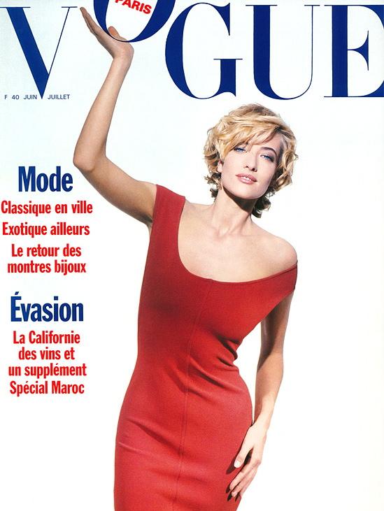 Vogue (Paris) June 1989 | Tatjana Patitz