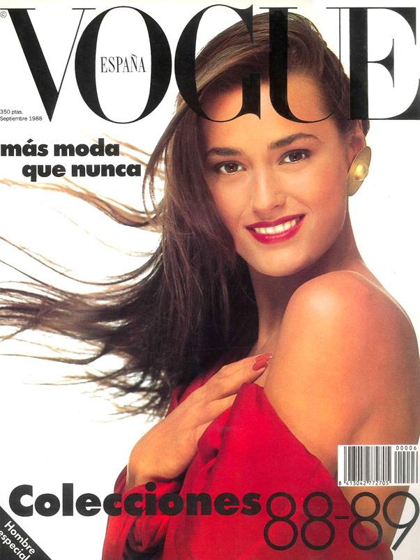 Vogue (Spain) September 1988 | Yasmin Le Bon