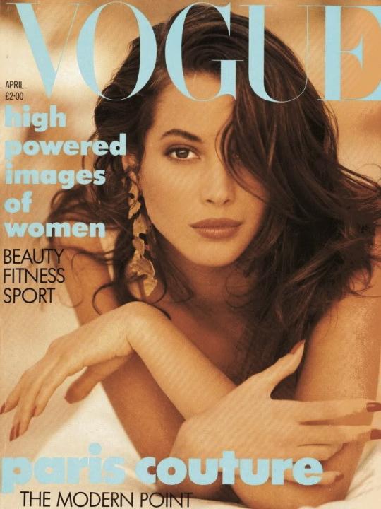 Vogue (UK) April 1989 | Christy Turlington