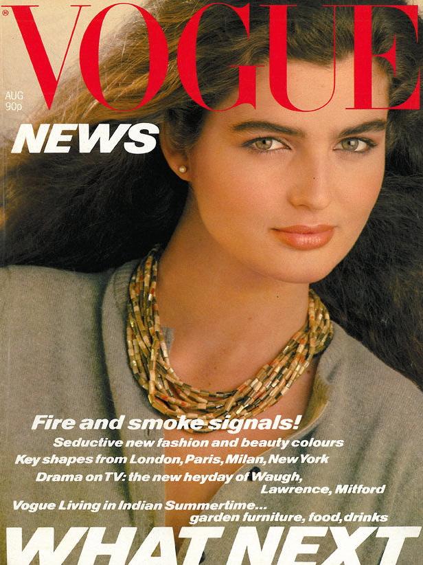 Vogue (UK) August 1980 | Eva Voorhees