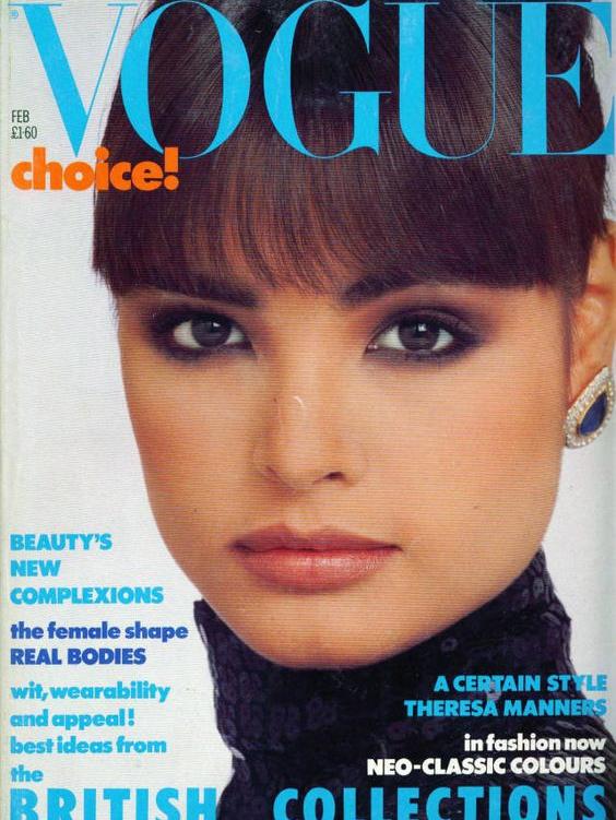 Vogue (UK) February 1986 | Talisa Soto