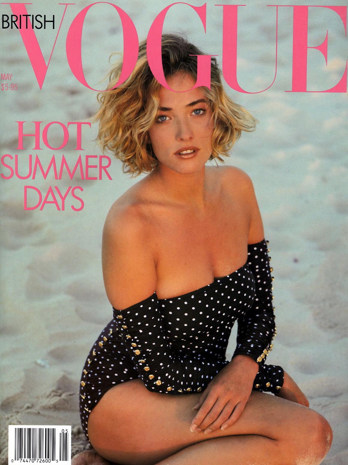 Vogue (UK) May 1989 | Tatjana Patitz